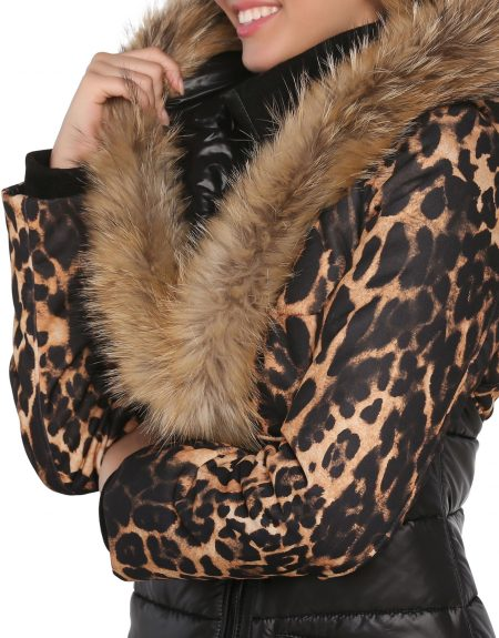 Fabric_Black_And_Leopard_Woman-Parka-With-Fur