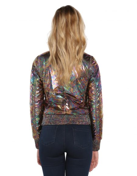 Metalic_Abstract_Flowery_Puffer_Woman-Jacket-With-Fur