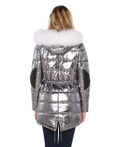 Metalic_Silver_Puffer_Woman-Jacket-With-Fur