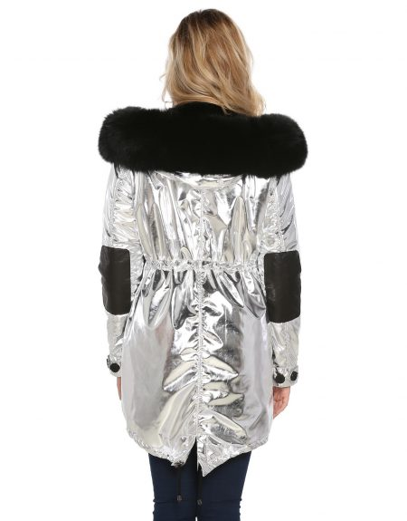 Metalic_Silver__Puffer_Woman-Jacket-With-Fur