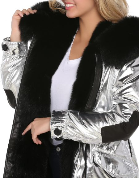 Metalic_Silver__Puffer_Woman_Jacket-With-Fur