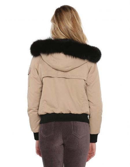 Woman_Camel_Fabric_Jacket-With-Fur
