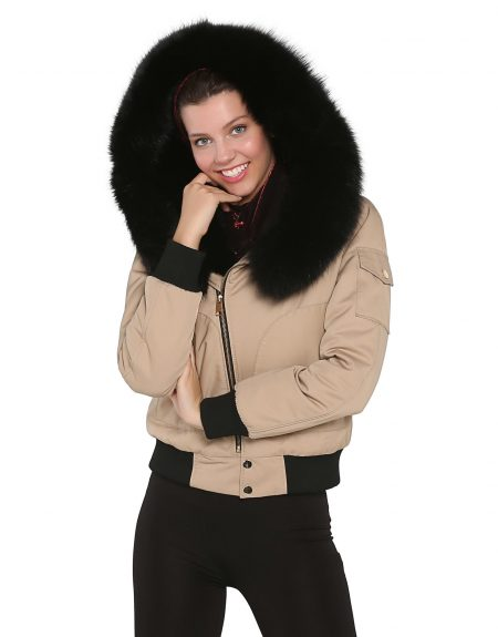 Woman_Camel_Fabric_Jacket_With_Fur-Turbaned