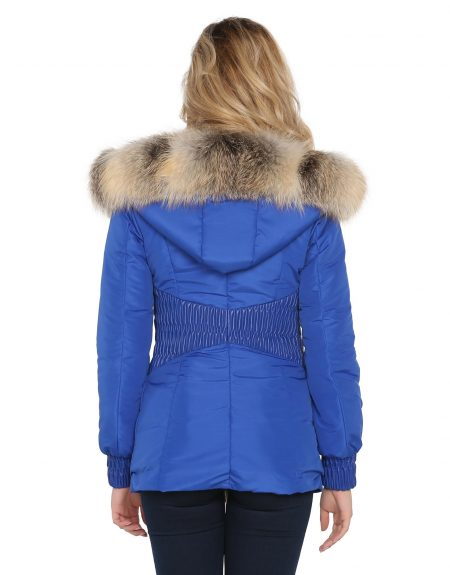 Woman_Fabric_Blue_Parka-With-Fur