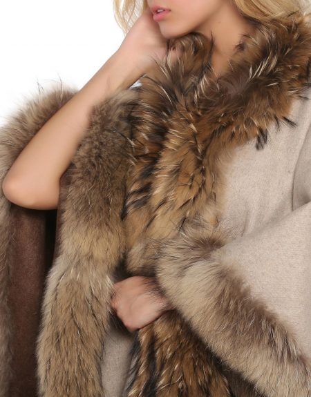 Woman_Two_Way_Brown_Cloak-With-Fur