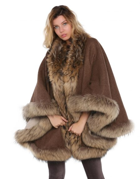 Woman_Two_Way_Brown_Cloak_With-Fur